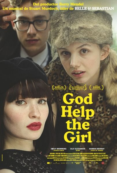 """Movie poster for """"God Help the Girl"""""""