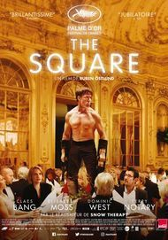 "Movie poster for ""THE SQUARE"""