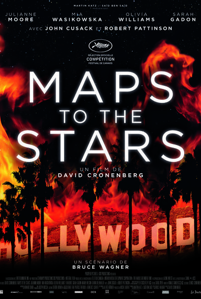 """Movie poster for """"MAPS TO THE STARS"""""""