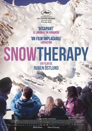 "Movie poster for ""SNOW THERAPY"""