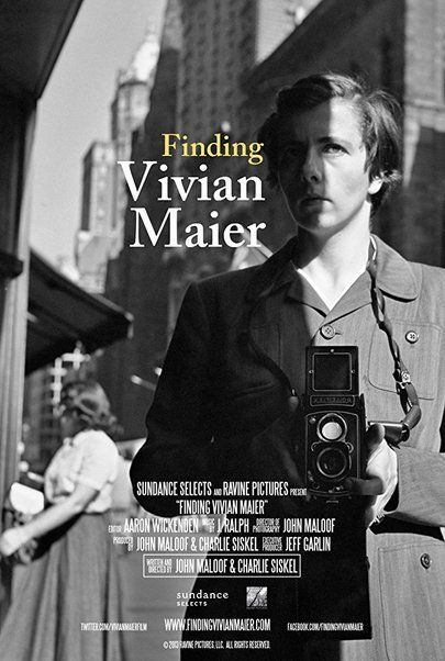 """Movie poster for """"FINDING VIVIAN MAIER"""""""