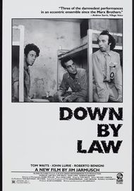"""Movie poster for """"DOWN BY LAW"""""""