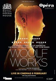 """Movie poster for """"WOOLF WORKS - The Royal Ballet"""""""