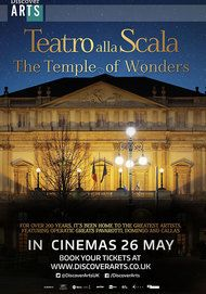 """Movie poster for """"TEATRO ALLA SCALA The Temple of Wonders"""""""