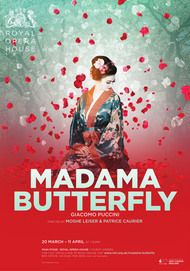 """Movie poster for """"MADAMA BUTTERFLY - Royal Opera House"""""""