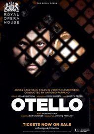 "Movie poster for ""OTELLO - Royal Opera House"""