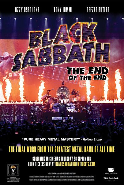 """Movie poster for """"BLACK SABBATH: THE END OF THE END"""""""