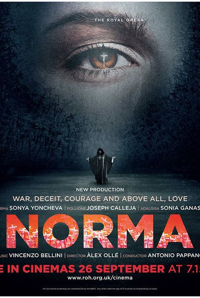 """Movie poster for """"NORMA (Royal Opera House)"""""""