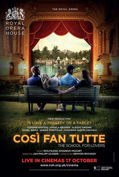 """Movie poster for """"COSI FAN TUTTE - Royal Opera House"""""""