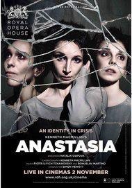 """Movie poster for """"ANASTASIA - ROYAL OPERA HOUSE"""""""