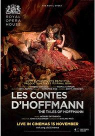 """Movie poster for """"LES CONTES D'HOFFMANN - ROYAL OPERA HOUSE"""""""