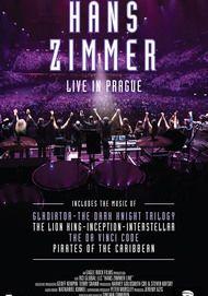 "Movie poster for ""HANS ZIMMER LIVE IN PRAGUE"""