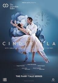 """Movie poster for """"CINDERELLA: FROM THE AUSTRALIAN BALLET. THE FAIRY TALE SERIES"""""""