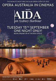"Movie poster for ""AIDA: HANDA OPERA ON SYDNEY HARBOUR"""