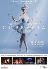 """Movie poster for """"COPPELIA: FROM THE AUSTRALIAN BALLET. THE FAIRY TALE SERIES"""""""