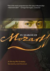 """Movie poster for """"IN SEARCH OF MOZART - Exhibition on Screen"""""""
