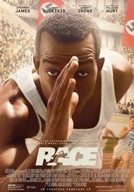 """Movie poster for """"RACE"""""""