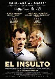 """Movie poster for """"The Insult"""""""