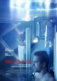 """Movie poster for """"SELF/LESS"""""""