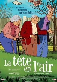 "Movie poster for ""LA TETE EN L'AIR"""