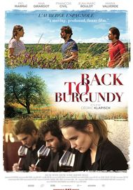 """Movie poster for """"BACK TO BURGUNDY"""""""