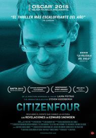 """Movie poster for """"CITIZENFOUR"""""""