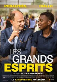 """Movie poster for """"LES GRANDS ESPRITS"""""""