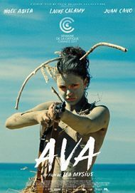 "Movie poster for ""AVA"""