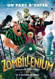 "Movie poster for ""ZOMBILLENIUM"""