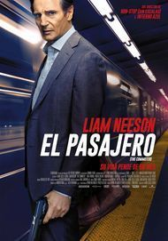 "Movie poster for ""THE COMMUTER"""