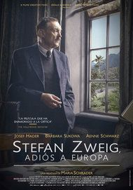 """Movie poster for """"STEFAN ZWEIG: FAREWELL TO EUROPE"""""""