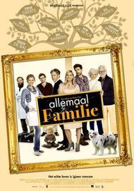 """Movie poster for """"ALLEMAAL FAMILIE"""""""
