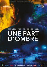 "Movie poster for ""UNE PART D'OMBRE"""
