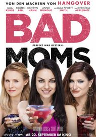 """Movie poster for """"Bad Moms"""""""