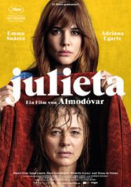 """Movie poster for """"Julieta"""""""