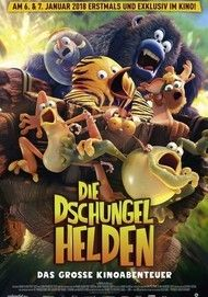 """Movie poster for """"Die Dschungelhelden - Das grosse Kinoabenteuer"""""""