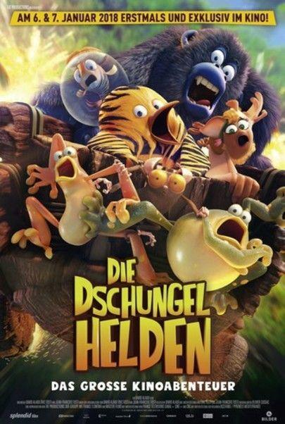 """Filmplakat für """"Die Dschungelhelden - Das grosse Kinoabenteuer"""""""