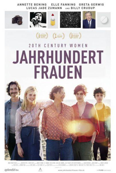 """Filmplakat für """"Jahrhundertfrauen"""""""