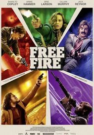 """Movie poster for """"Free Fire"""""""