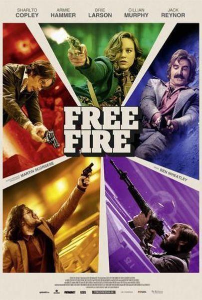 """Filmplakat für """"Free Fire"""""""