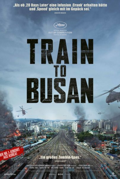 "Filmplakat für ""Train to Busan"""