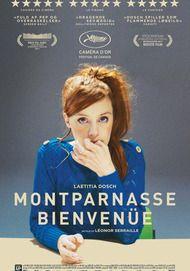 "Movie poster for ""MONTPARNASSE BIENVENUE"""