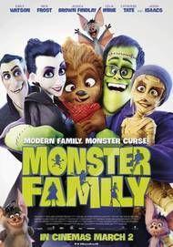 """Movie poster for """"MONSTER FAMILY"""""""