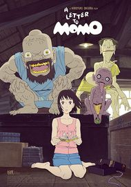 """Movie poster for """" A LETTER TO MOMO"""""""