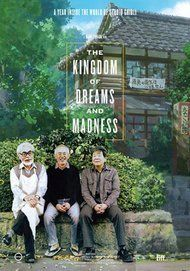"""Movie poster for """"THE KINGDOM OF DREAMS AND MADNESS"""""""