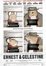 """Movie poster for """"ERNEST & CELESTINE"""""""