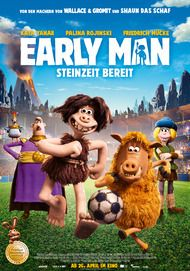 """Filmplakat für """"Early Man - Steinzeit bereit"""""""