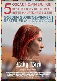 """Movie poster for """"Lady Bird"""""""