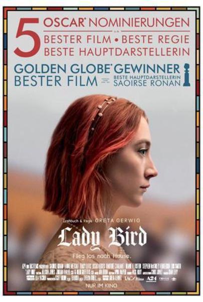 """Filmplakat für """"Lady Bird"""""""