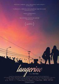 """Movie poster for """"TANGERINE"""""""